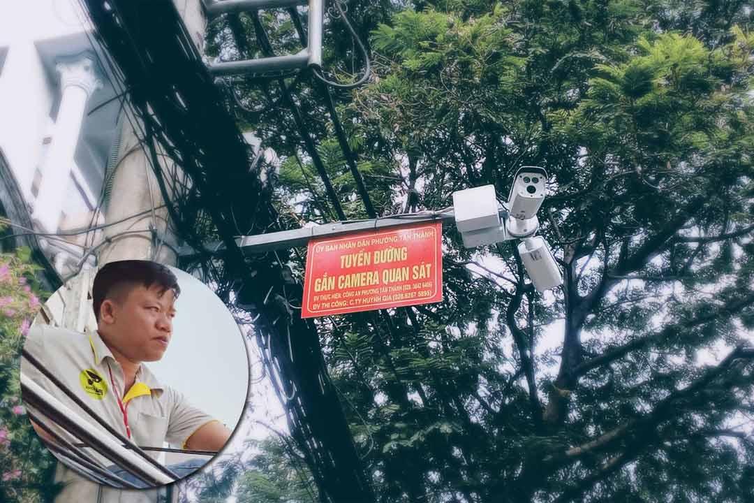 Công trình camera Khu phố Quận Tân Phú