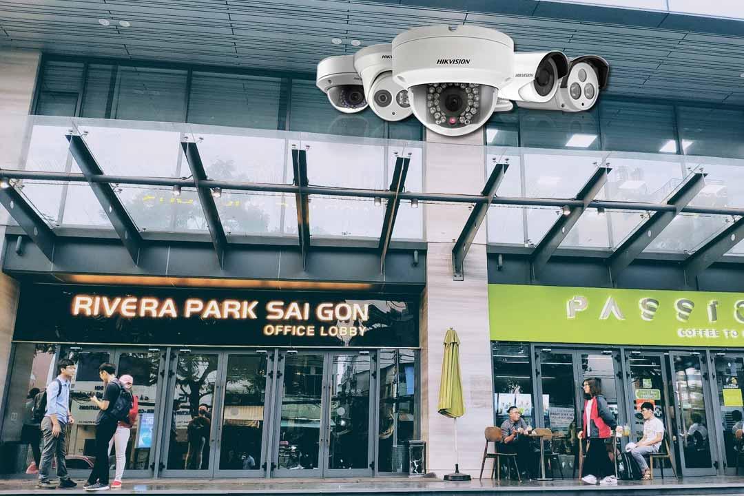 Công trình thi công camera chung cư Rivera Park Sài Gòn