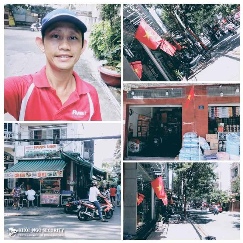 Dự án camera Chợ Tân Phú 2