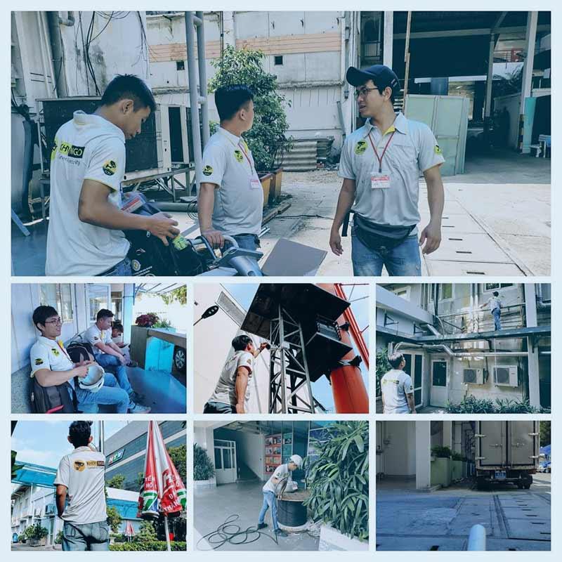 Dự án thi công camera HTV 2020