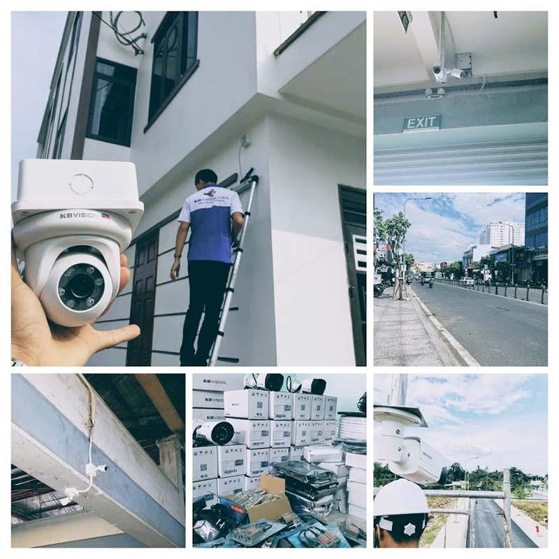 Dự án đã thi công camera KBVision đường phố