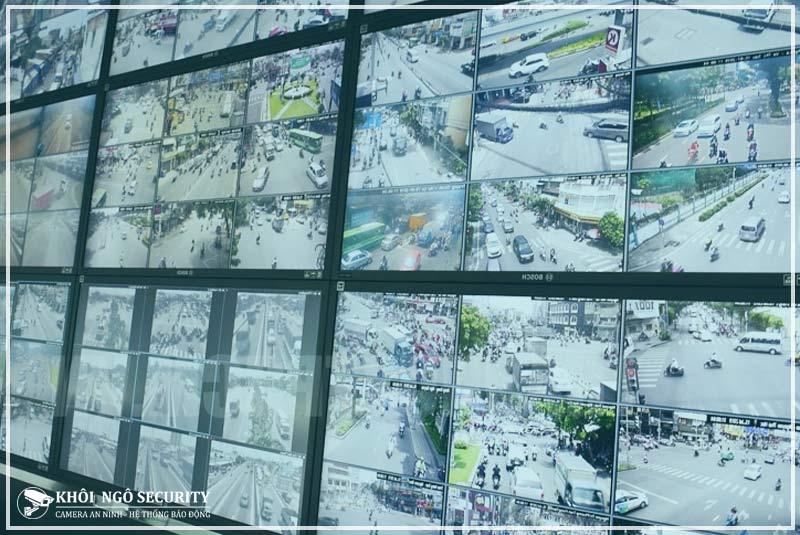 Thi công camera đường phố Quận Tân Phú