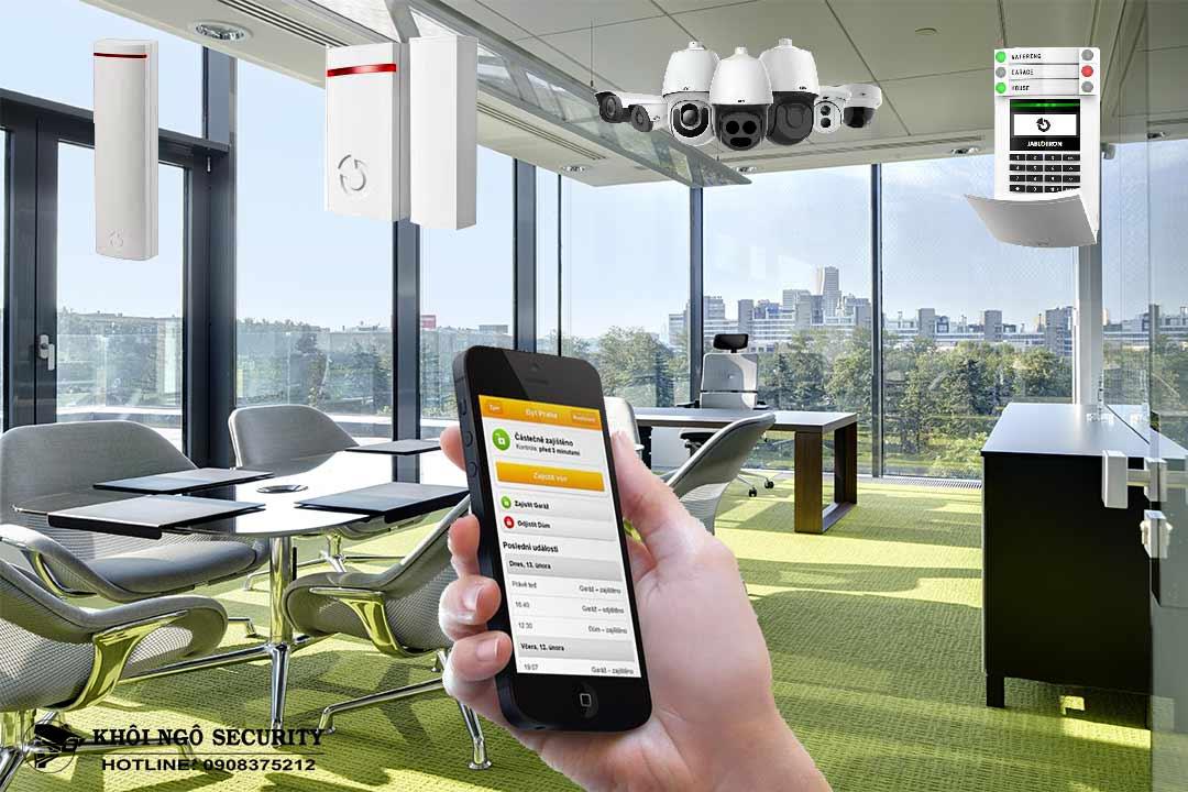 Giải pháp an ninh và Smart Office Jablotron cho văn phòng thông minh