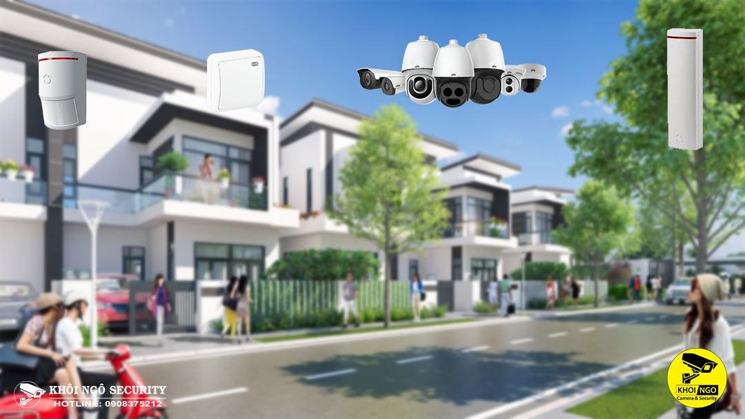 Giải pháp an ninh cho khu đô thị, khu dân cư hiện đại