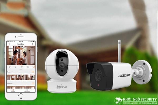 Camera wifi quan sát