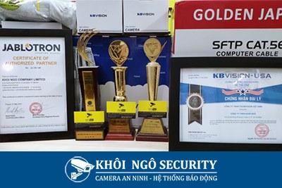 Giải thưởng của Khôi Ngô Security