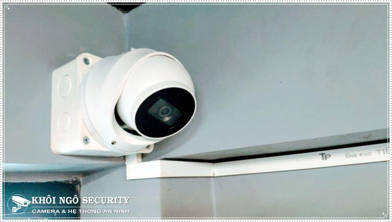 Lắp camera giám sát phòng Gym Zealfit House tại Quận 8