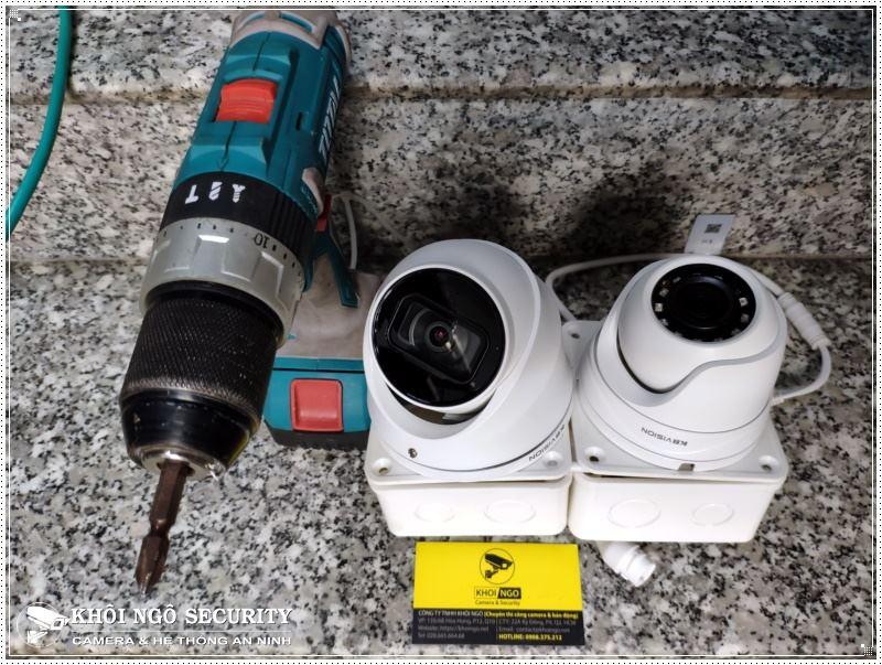 Lắp đặt camera tại Quận 8 cho phòng Gym Zealfit House
