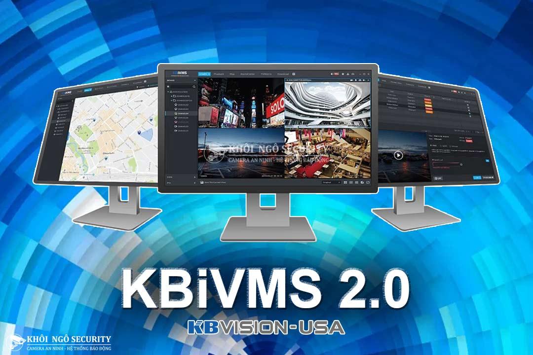 KBiVMS – Phần mềm xem camera KBVision trên máy tính