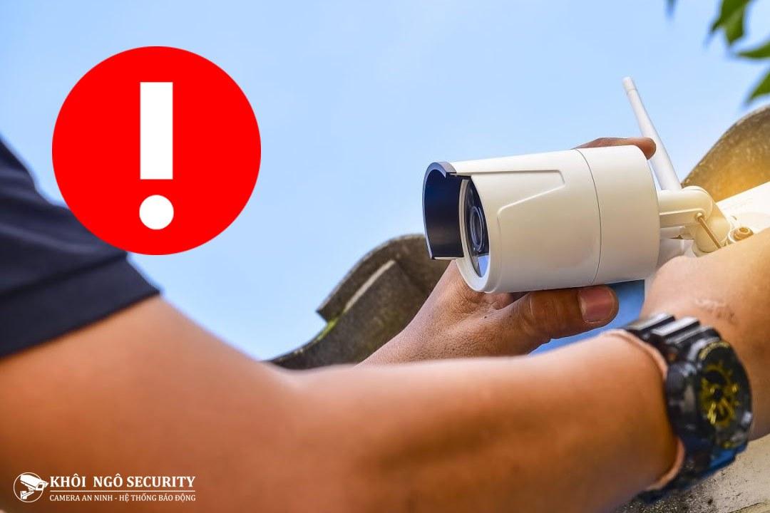 Những sai lầm cần tránh khi lắp đặt camera quan sát
