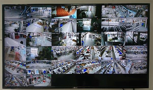 Màn hình TV/LCD quan sáti camera - Khôi Ngô Security