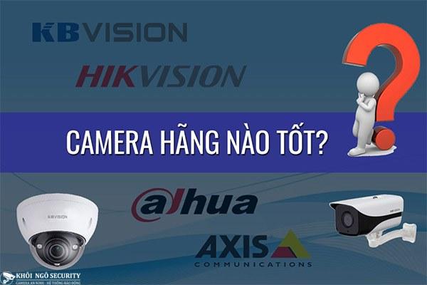 Sai lầm khi chọn thương hiệu camera