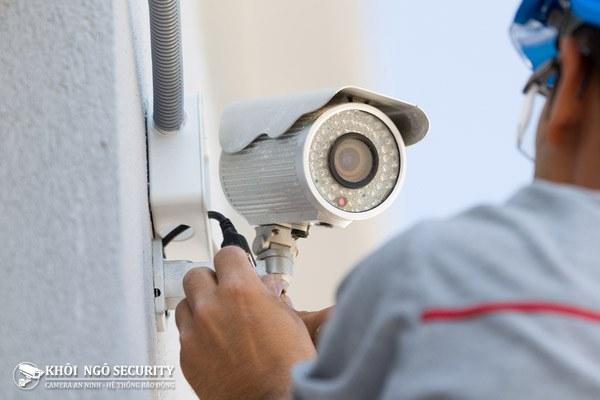 Cách lắp đặt camera giám sát qua mạng xem từ xa