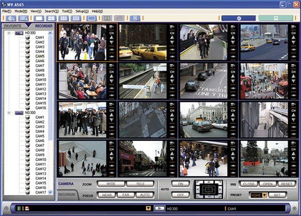 Download phần mềm CMS camera Panasonic