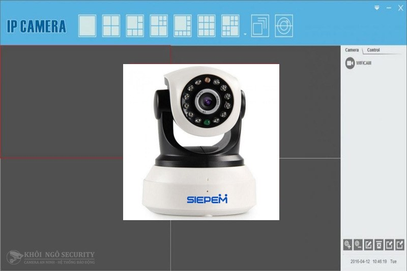 Monitor Client CMS Software for Siepem camera