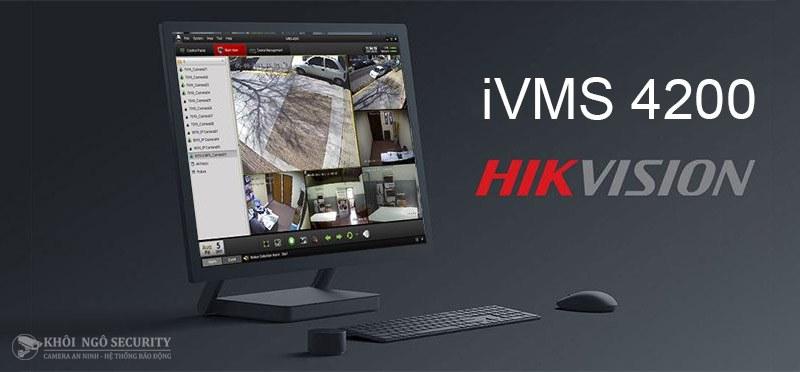 Phần mềm iVMS-4200 CMS xem camera Hikvision trên máy tính