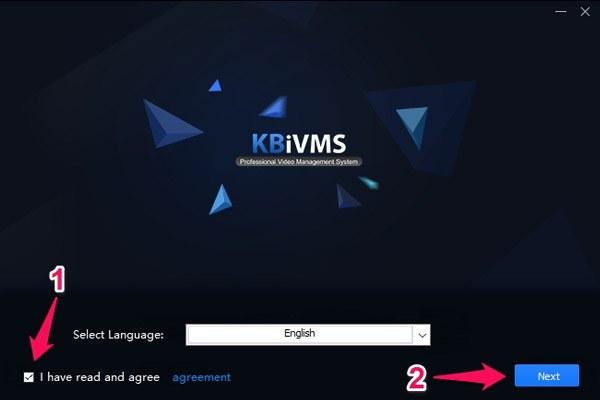 Phần mềm xem camera KBVision trên máy tính
