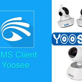 Phần mềm xem camera Yoosee trên máy tính CMS Client