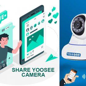 Cách chia sẻ camera Yoosee cho điện thoại hoặc tài khoản khác