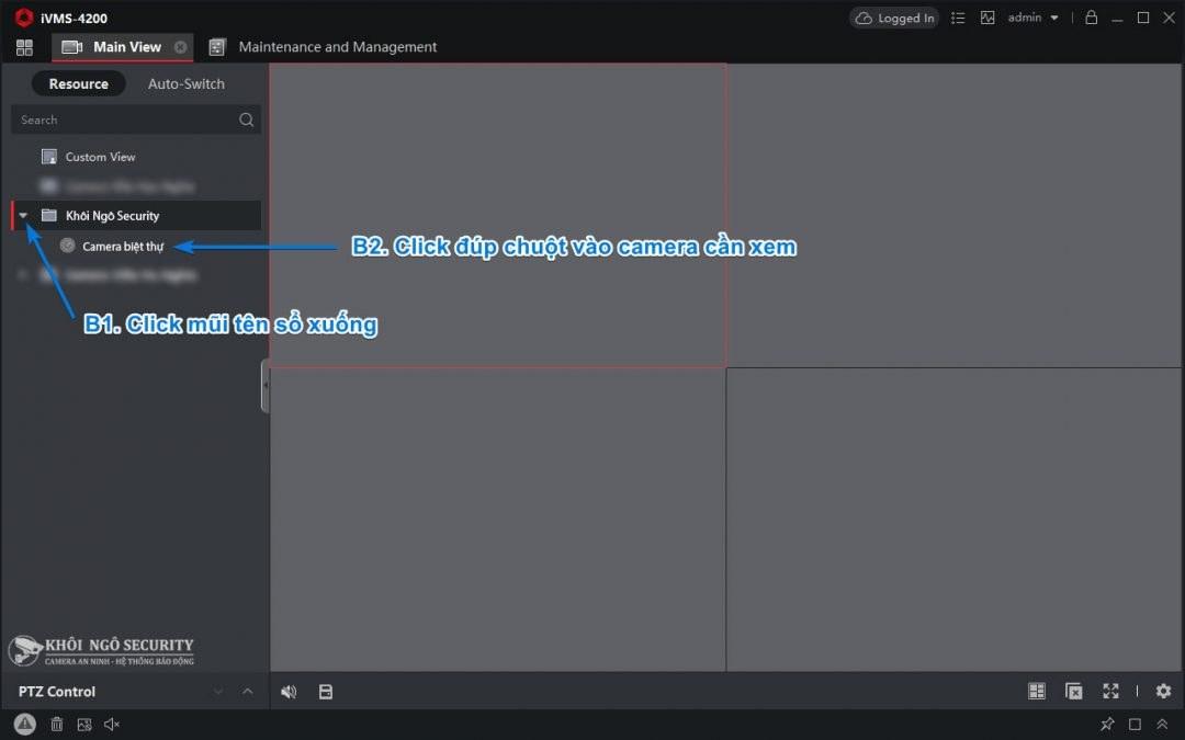 Cách xem trực tiếp camera Hikvision qua P2P