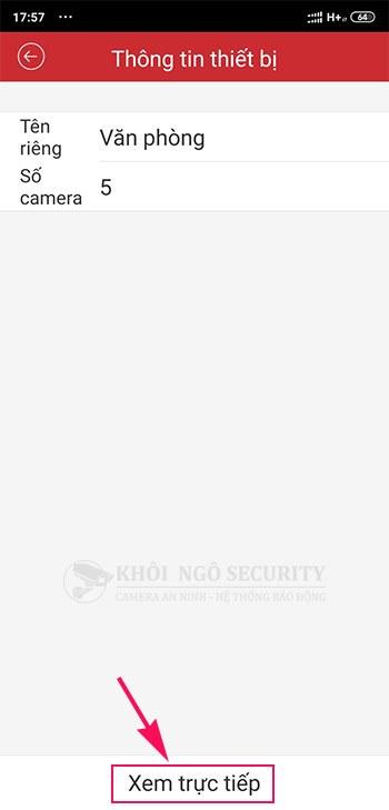 Click để xem trực tiếp camera Hikvision trên điện thoại Android, IOS