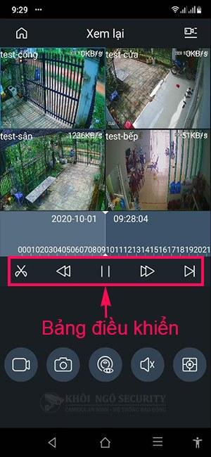 Hướng dẫn cách xem lại camera Dahua trên điện thoại