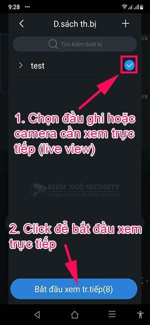 Hướng dẫn cách xem trực tiếp camera Dahua trên điện thoại bằng gDMSS và iDMSS Plus