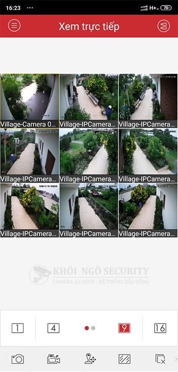 Hướng dẫn xem trực tiếp camera Hikvision trên điện thoại