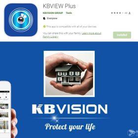 Phần mềm KBView Plus xem camera KBVision trên điện thoại