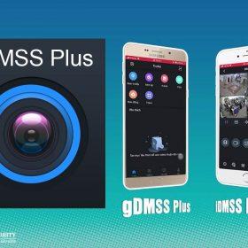 Phần mềm xem camera trên điện thoại gDMSS Plus