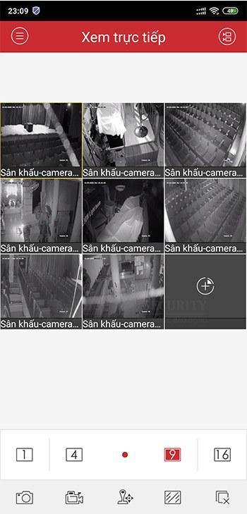 Xem tất cả camera Hikvision trên điện thoại với iVMS-4500