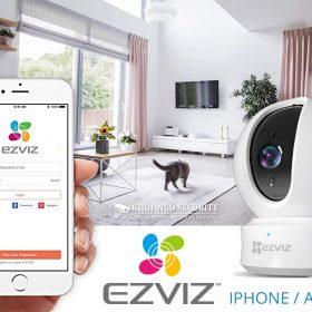 Phần mềm xem camera Ezviz trên điện thoại