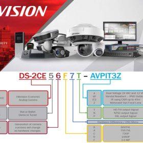Quy cách đặt mã sản phẩm Hikvision