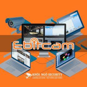 Cài đặt camera Ebitcam trên máy tính