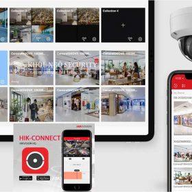 Cách xem lại camera Hikvision trên điện thoại bằng phần mềm Hik Connect