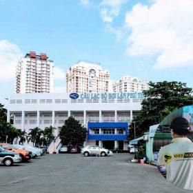 Thi công camera tại Trung tâm Thể dục Thể thao Phú Thọ